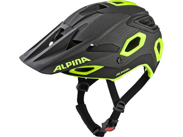 Alpina Rootge Helmet black-neon-yellow
